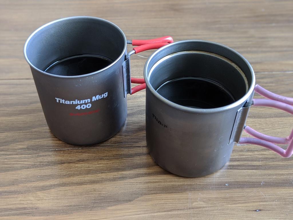 【おすすめチタンマグカップ】エバニュー(Evernew) チタンマグカップ レビュー。7年使った感想は買ってよかった。